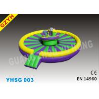 Wholesale 0.9mm PVC Tarpaulin Inflatable Jousting Arena Sport Games YHSG-003 wtih Diameter 5m from china suppliers