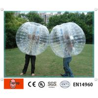 Wholesale Transparent PVC Inflatable Bumper Balls for interactive games on beach or grassland from china suppliers
