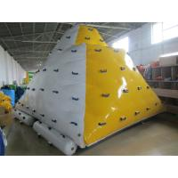 Wholesale 0.9mm PVC Tarpaulin Inflatable Floating Iceberg Used In Lake from china suppliers