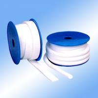 White PTFE Coated Fiberglass Fabric High Temperature Expanded