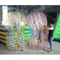 Wholesale Party Game Pvc Inflatable Bubble Ball for Children Outdoor Game from china suppliers
