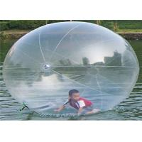 Wholesale 2.5m Clear Inflatable Running Ball Water Toys for Sporting Events from china suppliers