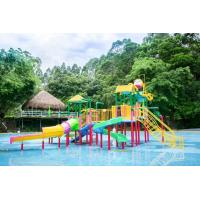 Wholesale Kids Amusement Park Water Playground / Fiberglass Interactive Water House Toys from china suppliers