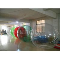 China 1.0mm TPU 2M Clear Inflatable Water Walking Balls With Pool EN15649 Approval on sale