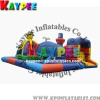 Wholesale KFT005 inflatable ocean funcity for kid,inflatable playland,crazy playgound, from china suppliers