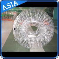 China 1.0mm  Transparent PVC Inflatable Zorb Ball Human Hamster Ball on sale