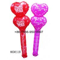 Wholesale Inflatable Toys Valentine's Day I LOVE U Stick Supplier from china suppliers