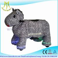 Wholesale Hansel coin operated kids ride machine animal riding toy for shoppingmall from china suppliers