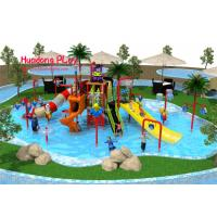 China Commercial Water Park Playground Equipment Medium Size  1220*610*450cm on sale