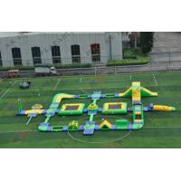 Wholesale Funny Amusement Inflatable Water Parks / Inflatable Water Sports for Adults and Children from china suppliers