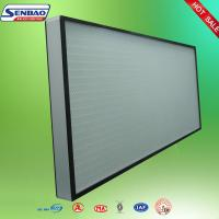 Wholesale High Efficiency Hepa Air Filters , Air Conditioner Hepa Filter Air purify from china suppliers