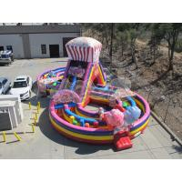 Quality Candy Inflatable Obstacle for sale