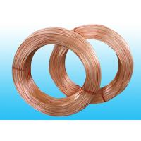 Wholesale Welded Refrigeration Copper Tube / Steel  Pipe For Refrigerator 6 * 0.5 mm from china suppliers