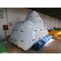 Wholesale 2 Sides Climbing Inflatable Floating Iceberg For Hotel Or Family Pool from china suppliers