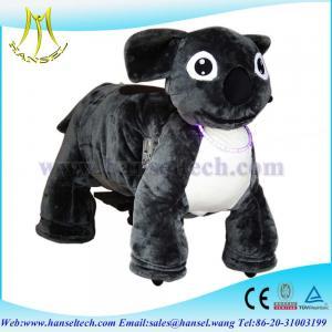 Wholesale Hansel battery motorized animals ride ufo catcher plush motorized animals from china suppliers