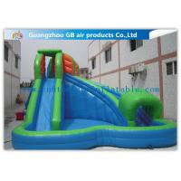 China 7 * 6m Commercial Kids Inflatable Water Slides , Pool Inflatable Slides For Children on sale