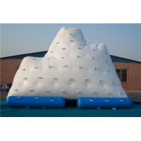 Quality Large Inflatable Water Games Iceberg Inflatable Water Toy For Amusement Park for sale