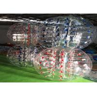 Wholesale 1.0mm TPU Red Inflatable Bubble Ball Inflatable Bubbles For Humans from china suppliers
