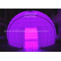 Wholesale 5M 420D Oxford Cloth Inflatable Event Tent LED Dome Tent With Remote Controller from china suppliers