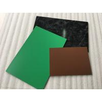 Wholesale Yellow PVDF Aluminum Composite Panel , Rustproof Exterior Aluminum Panels  from china suppliers