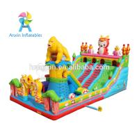 Wholesale Large Outdoor gorilla design Kids Funland Inflatable Sports Games Inflatable Fun City from china suppliers