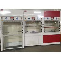Quality 12.7mm Worktops Chemical Fume Hood Adjustable Air Volume Up To 0.5m/S for sale
