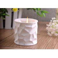 Wholesale Elegant 290ml white ceramic candle holder For Home Decoration from china suppliers