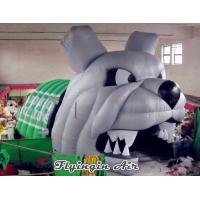 Wholesale Inflatable Bulldog Tunnel, Inflatable Animal Tunnel, Inflatable Mascot Dog Tunnel from china suppliers