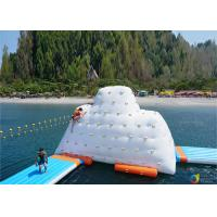 Wholesale 14′ Inflatable Climbable Iceberg For Summary Holiday , Inflatable Water Games from china suppliers