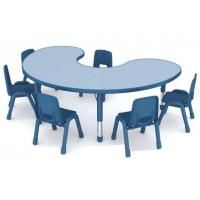 Wholesale Children Furniture plastic table and LLDPE chair Preschool Used library school furniture from china suppliers