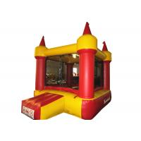 Wholesale Red small inflatable jump castke house for kids under 7 years inflatable mini bouncer castle from china suppliers