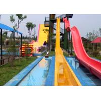 Customized Size High Speed Water Slide Equipment for Water Park for sale