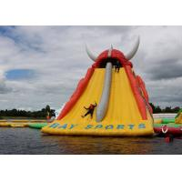 Wholesale Huge Inflatable Floating Water Slide For Kids Or Adults / Outdoor Inflatable Water Park from china suppliers