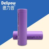 Environmentally Friendly Rechargeable Battery Lithium , 3.7v 2200mah 18650