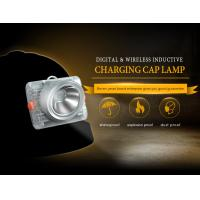 Wholesale 6.6 Ah 15000lux Led Mining Cap Lamp , Underground Miners Cap Lamp from china suppliers