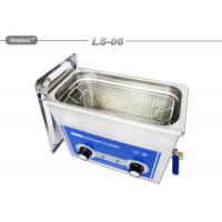 Wholesale Hardware Oil 6L Removal Tabletop Ultrasonic Cleaner With Basket from china suppliers