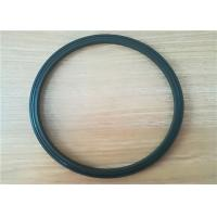 China High Tensile Strength PU Oil Seal Piston Rod NBR / Pu Rubber Seal In Black on sale