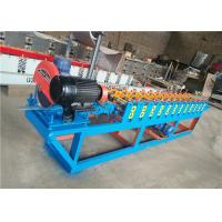 Wholesale Slats Profile Rolling Shutter Strip Making Machine / Forming Machine Fly Saw Cutting from china suppliers