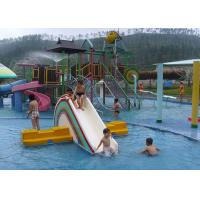 Wholesale SGS Aqua Park Playground Equipment / Kids Water House For Hotel Resort from china suppliers
