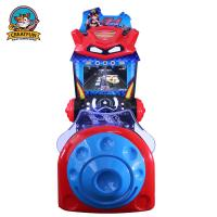 Wholesale Classic Arcade Driving Machine , Entertainment Racing Game Simulator Machines from china suppliers
