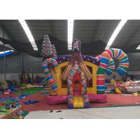 Wholesale Colorful Bonbon Adult Size Bounce House / Commercial Small Jumpy House from china suppliers