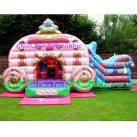 Wholesale Inflatable Toys: Hot Sale Inflatable Bouncy Castle with Slide (CY-M2071) from china suppliers