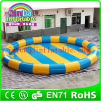Wholesale QinDa inflatable kids bath pool,swimming pool baby bathtub inflatable pool from china suppliers