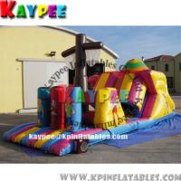 Wholesale Pirate Ship Obstacle,inflatable obstacle course KOB046 from china suppliers