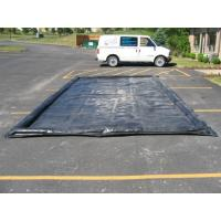 Water Reclamation System Inflatable Car Wash Mat Water Containment Inflatable Wash Pads
