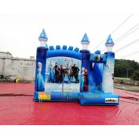 Frozen Inflatable Bouncer Slide Jumping Castle Combo 1 Year Guarantee