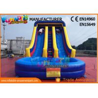 Wholesale SGS TUV Outdoor Inflatable Water Slide For Lake /  Pool Customized Logo from china suppliers