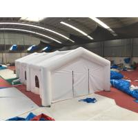 Wholesale Adult Big White Inflatable Shelter Tent , Durable Inflatable Camping Shelter from china suppliers