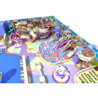China Candy Theme Indoor Playground Equipment Beautiful Commonly Known As Kids Castle on sale