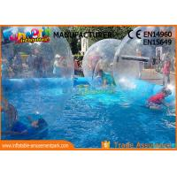Wholesale Large Inflatable Water Pools , Inflatable Swimming Pool With Ball from china suppliers